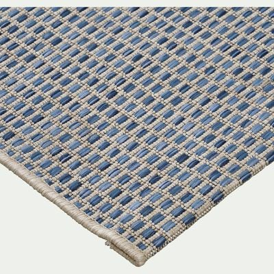 Tapis intérieur et extérieur - bleu 60x110cm-Baudouin