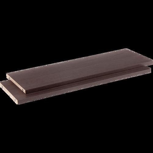 petite biblioth que 3 tablettes coloris ch ne gris l79cm biala rangements composer alinea. Black Bedroom Furniture Sets. Home Design Ideas