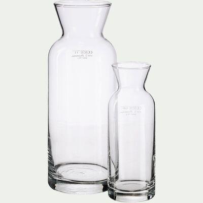 Carafe en verre 0,25cl-VALERY