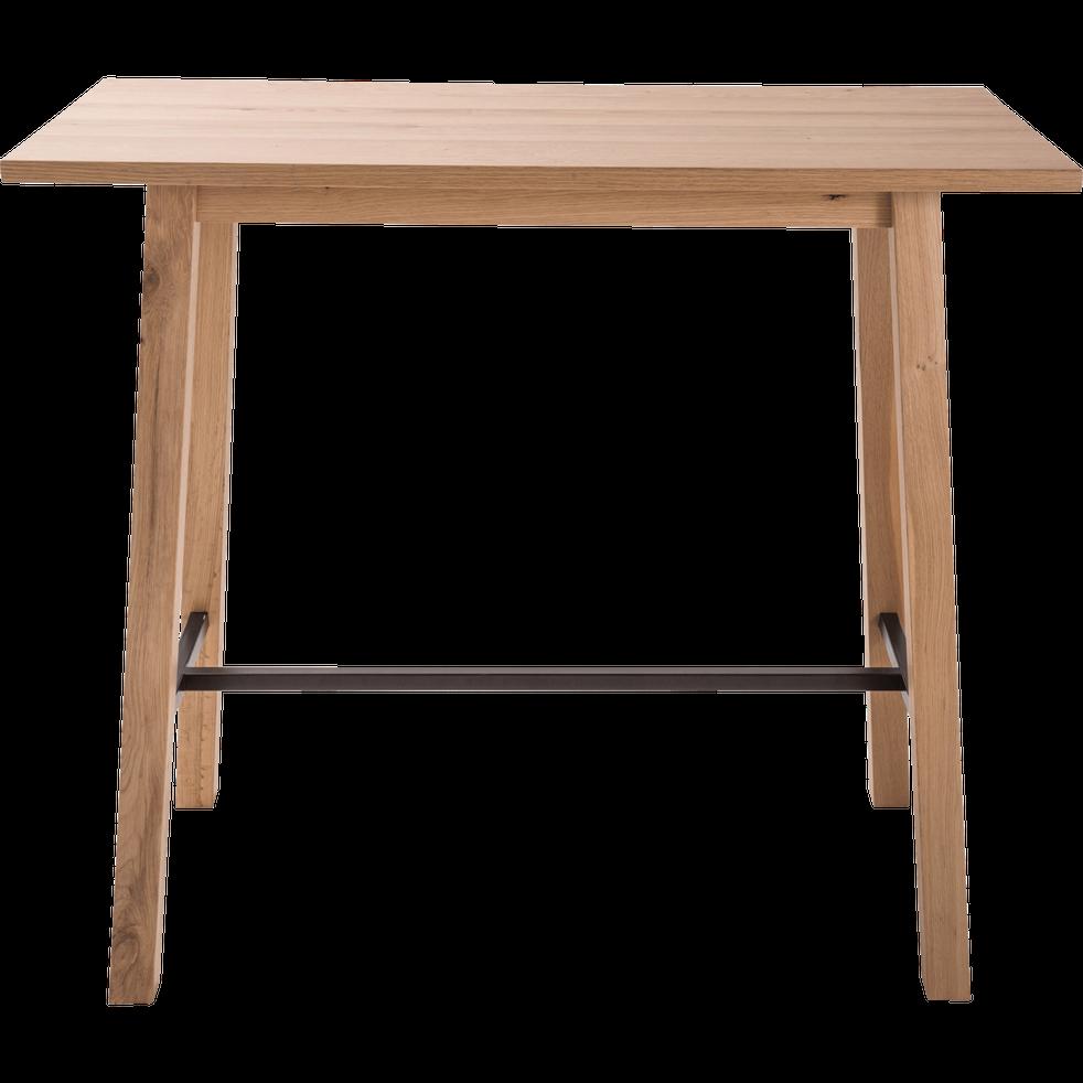 table haute rectangulaire l117cm rita 117x58 cm tables hautes alinea. Black Bedroom Furniture Sets. Home Design Ideas
