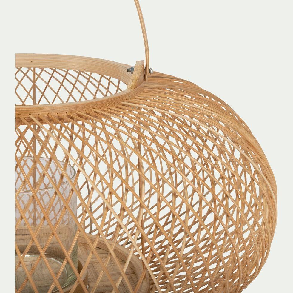 Lanterne en bambou D40xH20cm-VASCO