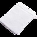 Lot de 2 gants de toilette blancs-BULLY