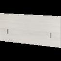 Tête de lit cerisier blanchi pour lit L140 cm et L160 cm-BROOKLYN