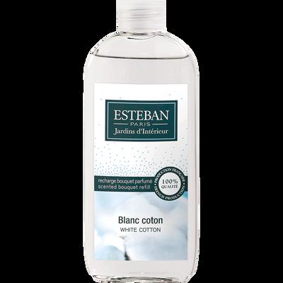 Recharge pour diffuseur blanc coton 100ml-ESTEBAN