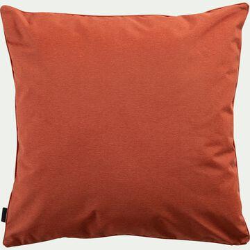 Coussin d'extérieur et intérieur déperlant - marron rustrel 70x70cm-TRAYAS