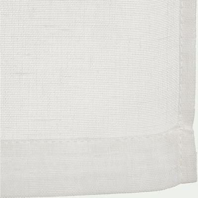 Vitrage blanc ventoux 45x90cm-DUNE