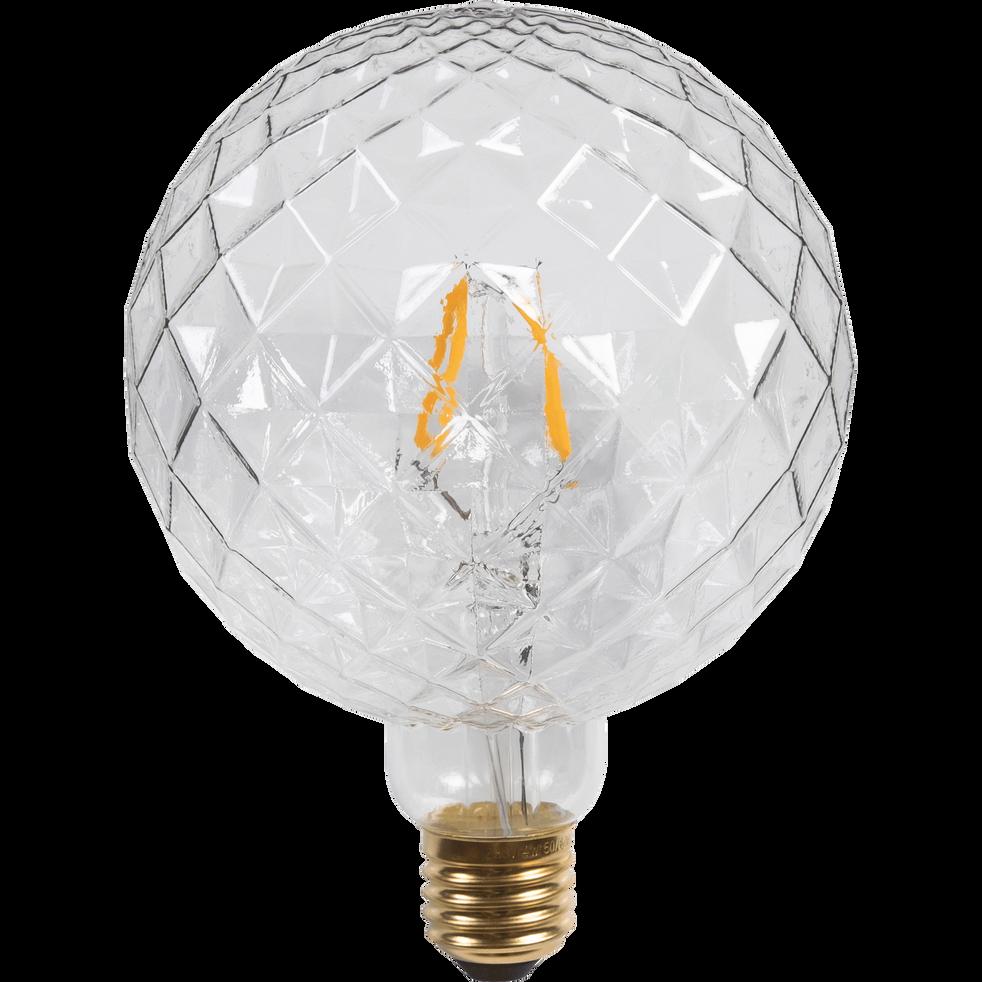 Ampoule LED décorative D12,5cm culot E27-PIN