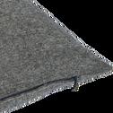 Coussin en polyester gris 30x50cm-CORBIN