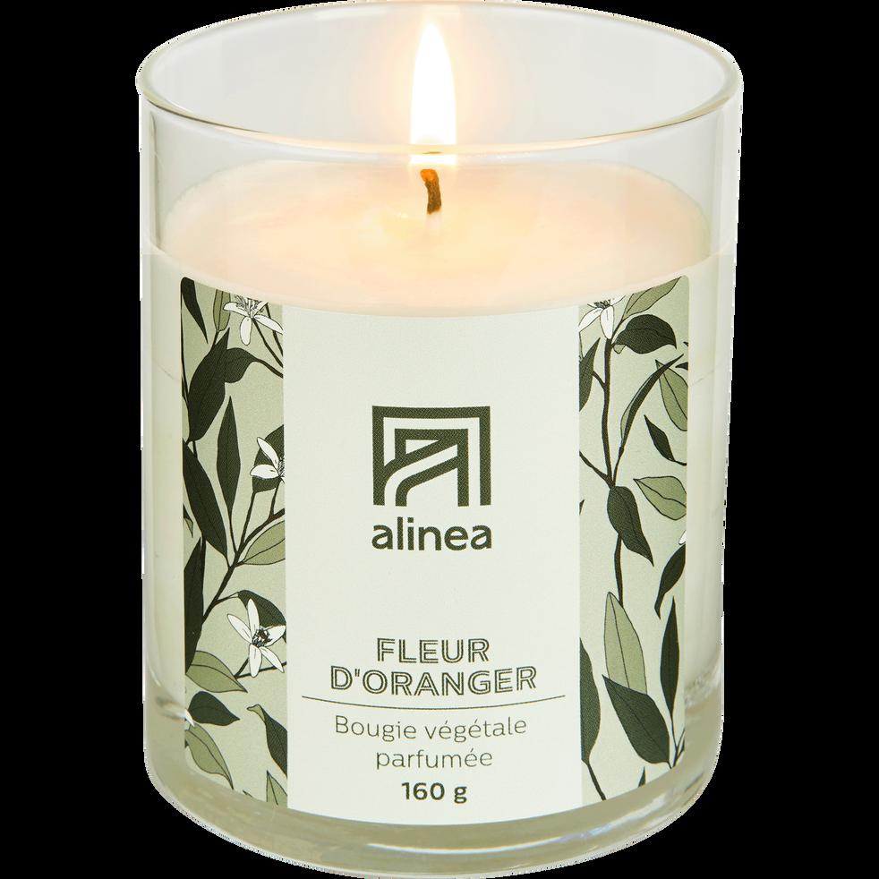 Bougie parfumée Fleur d'oranger 160g-ORANGER