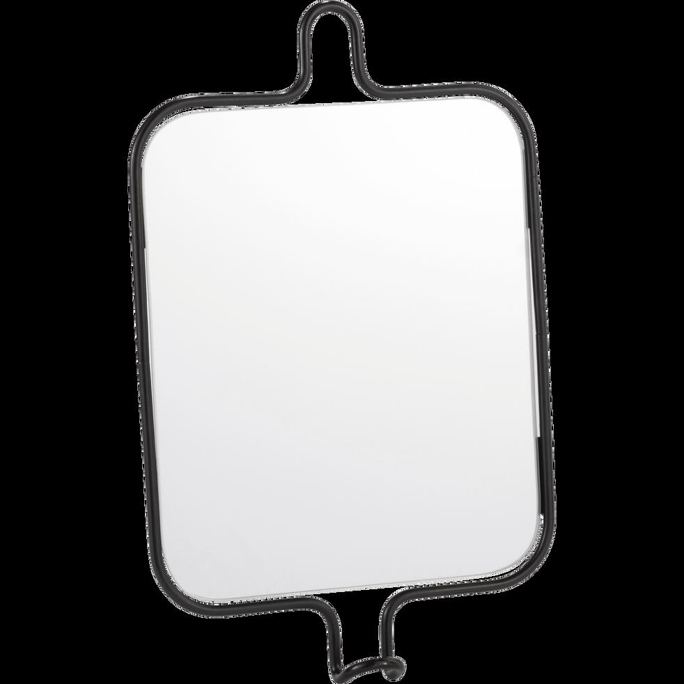 Miroir de salle de bains rectangulaire H34cm-CLIN