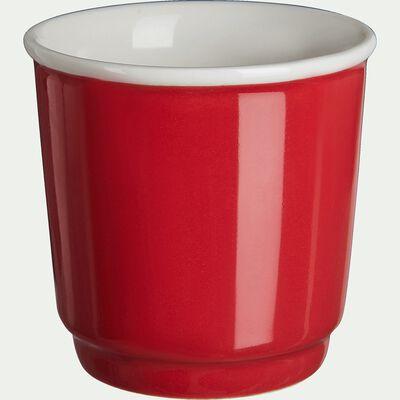 Tasses à expresso - rouge 9cl-CAFI