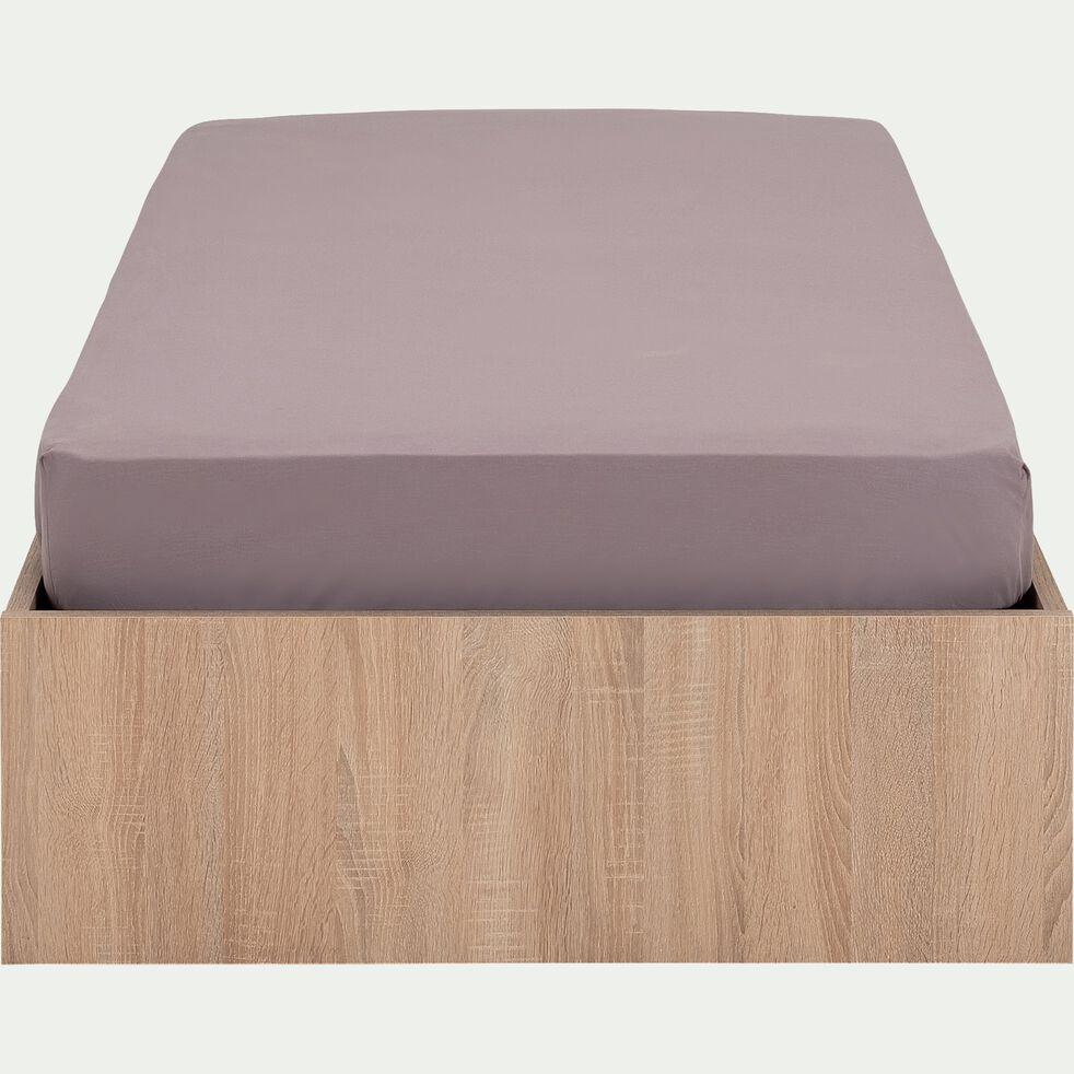 Lit-coffre pour enfant 90x200cm - effet chêne blanchi-BALME