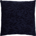 Coussin à motif brodé bleu calabrun 45x45cm-ORANGER