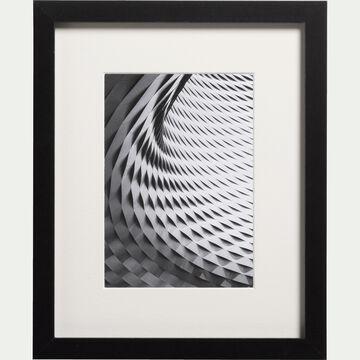 Image encadrée noir et blanc 24x30cm-TINEE