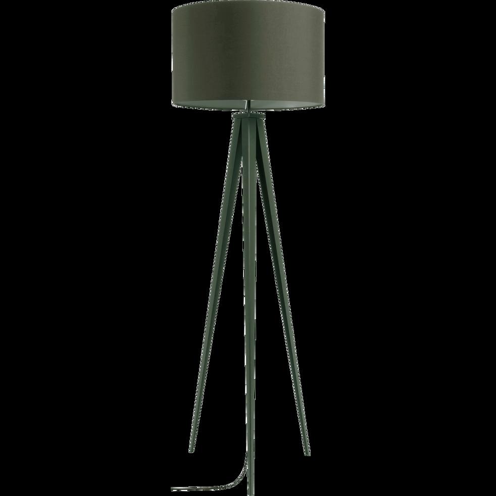 lampadaire en m tal vert c dre h156cm trix catalogue storefront alin a alinea. Black Bedroom Furniture Sets. Home Design Ideas