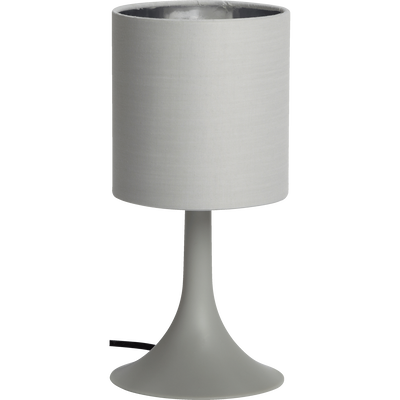 Lampe à poser grise H27cm-FIRST