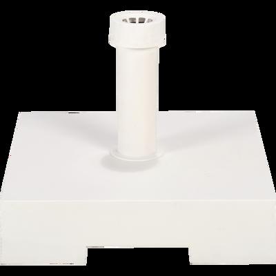 Pied de parasol en résine 30kg blanc-NAVE