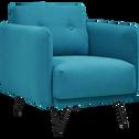Fauteuil en tissu bleu-FAIRWAY