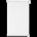 Store enrouleur voile blanc 37x170cm-EASY VOILE