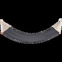 Hamac en tissu gris (1 personne)-PROPRIANO