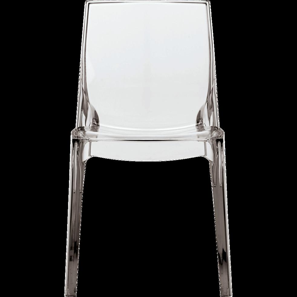 Chaise Design Transparente BECCA