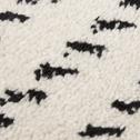 Tapis à motifs beige et noir 160x230cm-VIKY