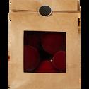 Lot de 9 boules en plastique rouge D10cm-SAUVAIRE
