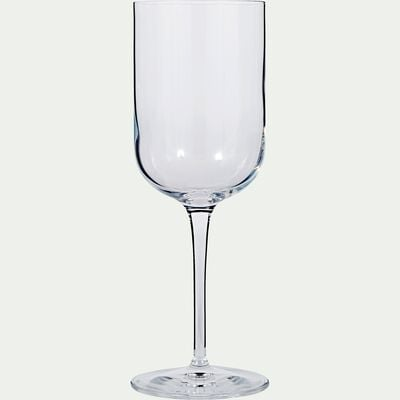 Verre à vin transparent en verre 28cl-SUBLIME