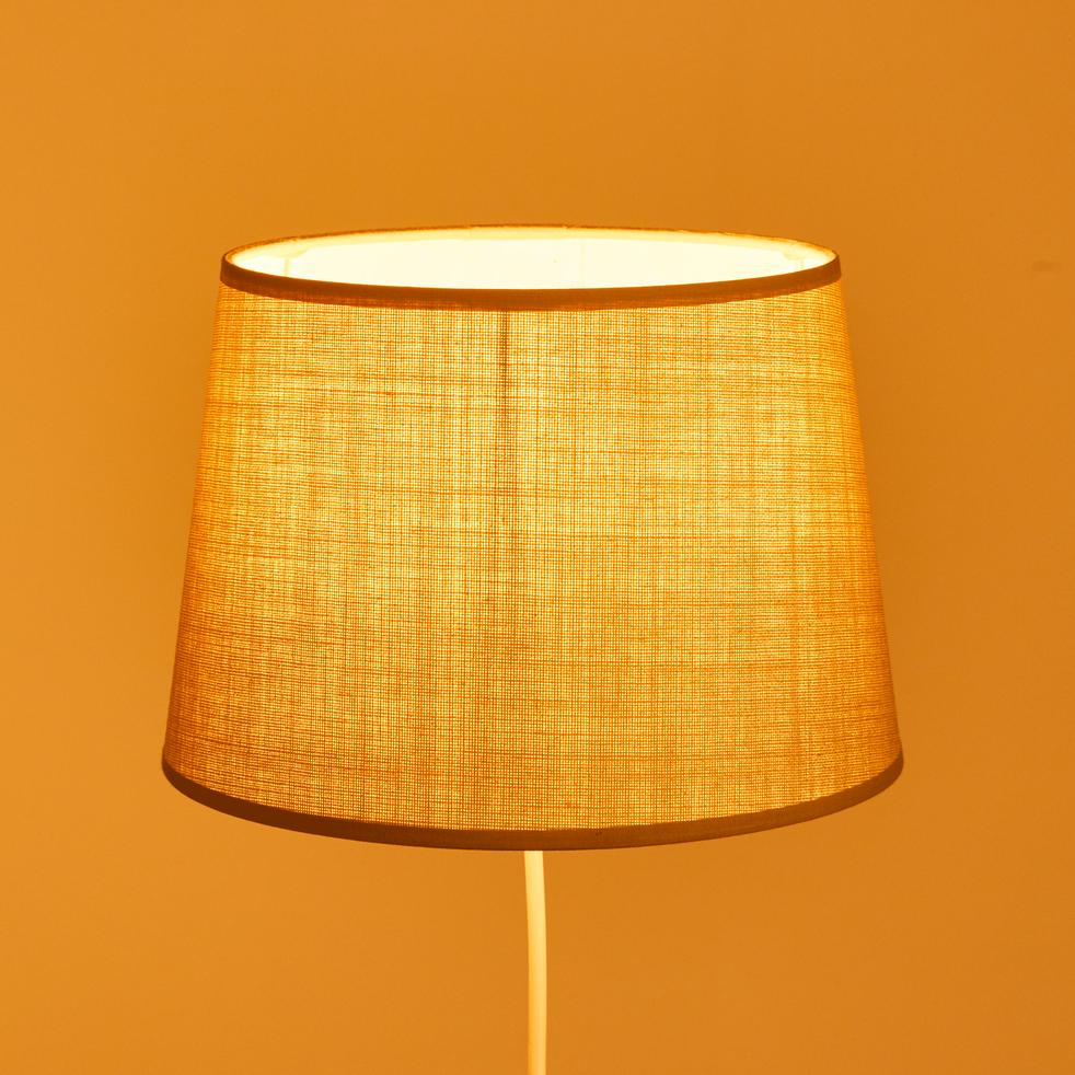 abat jour tambour vert olivier mistral alinea. Black Bedroom Furniture Sets. Home Design Ideas
