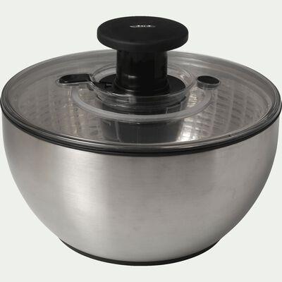 Essoreuse à salade en inox D26 cm - gris métallisé-OXO