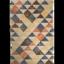 Tapis en laine motifs aztèques 160x230cm-POLO