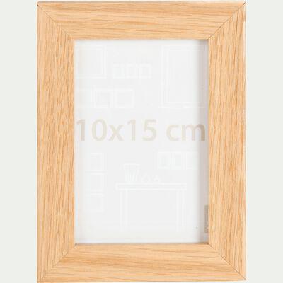 Cadre photo naturel 10x15cm-Chêne
