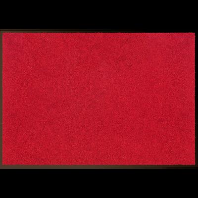 Tapis d'entrée paillasson rouge 60x90cm-BEN