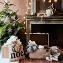 Sac de Noël en jute-LELLIS