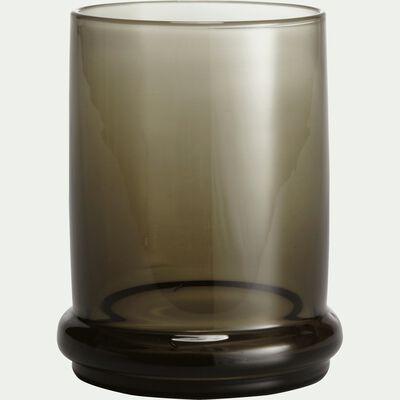 Verre en verre fumé gris 45cl-NECTAR