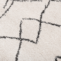 Tapis rectangulaire à motifs écru 160x230 cm-TOINOUCH