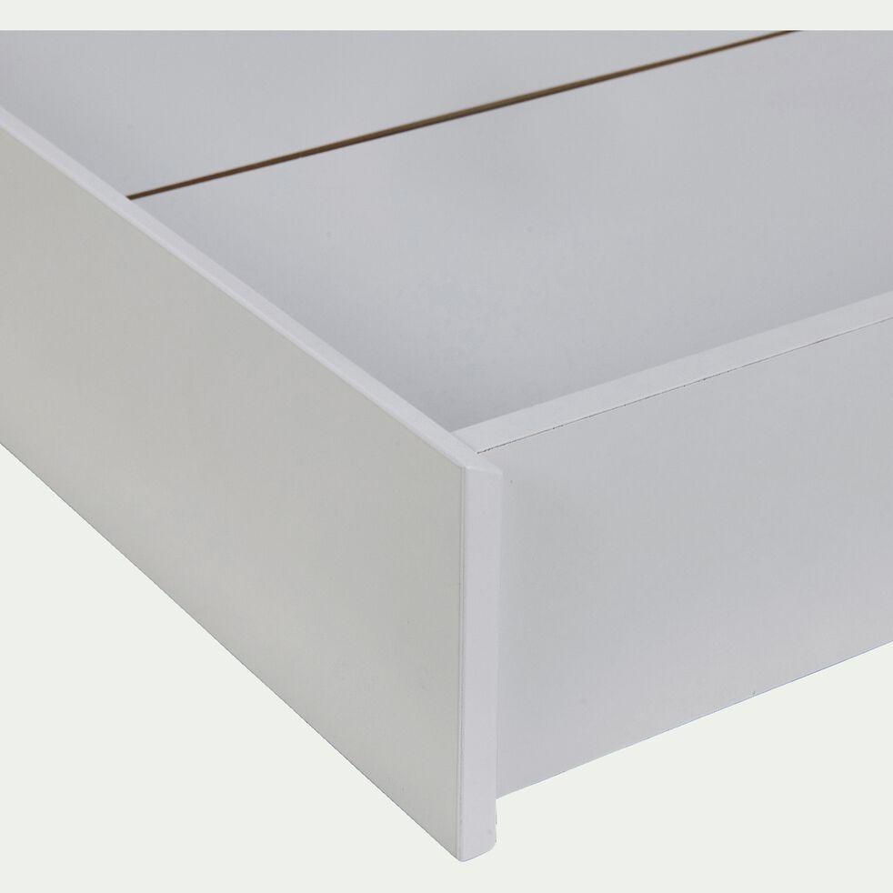 Tiroir de lit en bois pour lit Tipi - blanc-TIPI