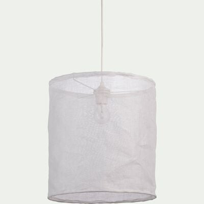 Suspension en lin blanc D35cm-ORMES