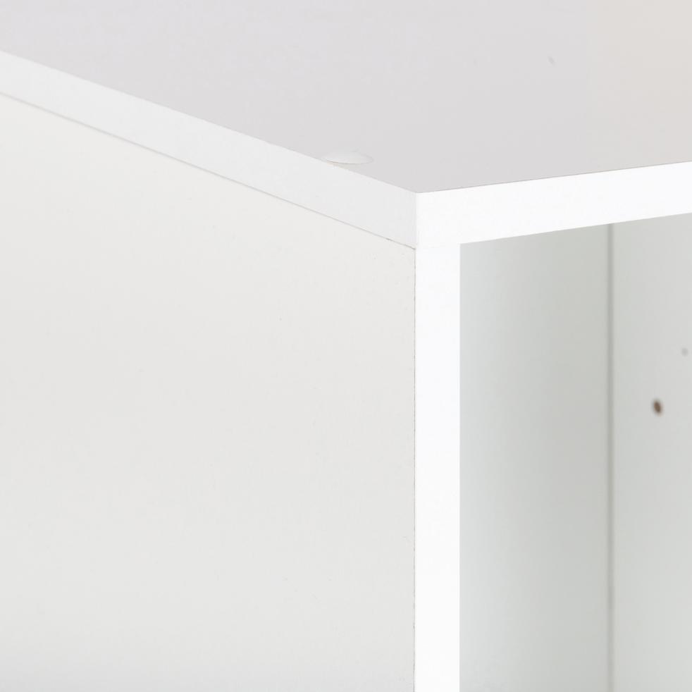 Structure 1 case en bois blanc H 35,10 cm-ZACCHARIE