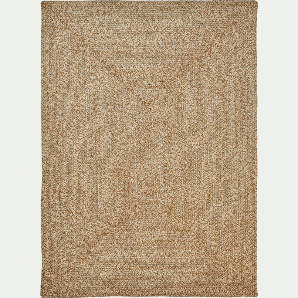 Tapis tressé en jute - naturel 120x170cm-LENGO