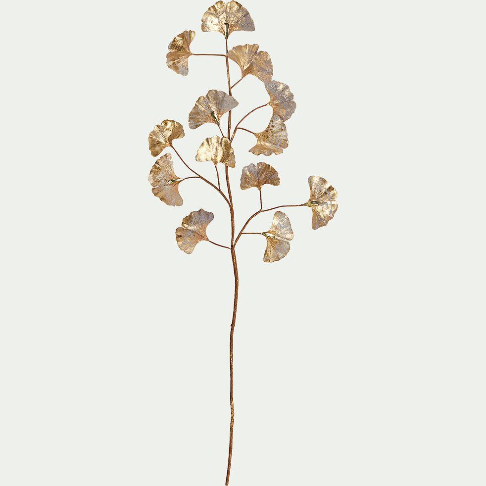 Tige artificielle dorée H85cm-TANAY