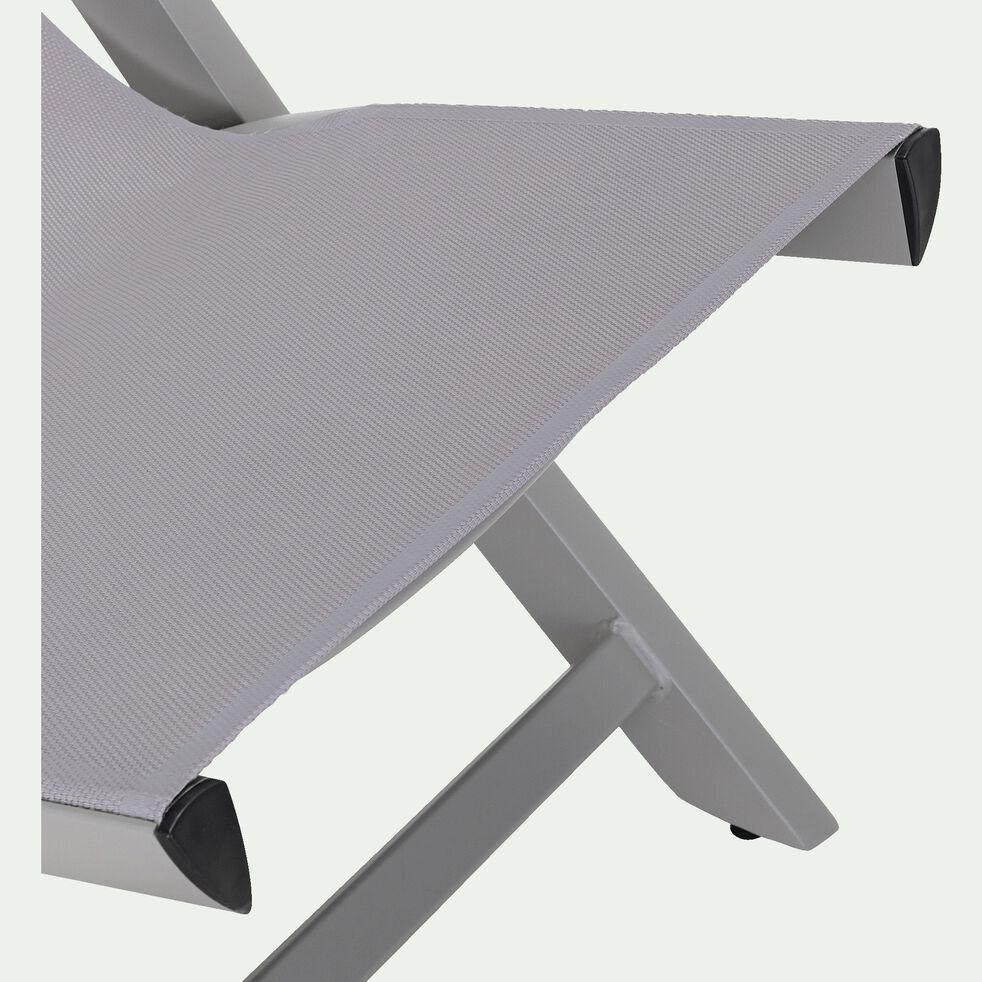 Chilienne 4 positions - gris vésuve-Sali