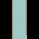 Colonne de salle de bains verte à motifs L40cm-ARTE