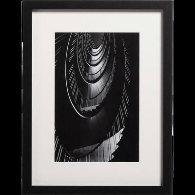 Image encadrée noir et blanc 30x40cm-ROUSSEL