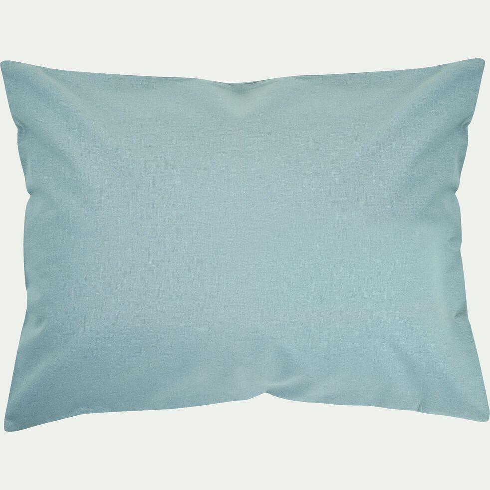Taie d'oreiller bébé en coton 35x45cm - bleu calaluna-Calanques