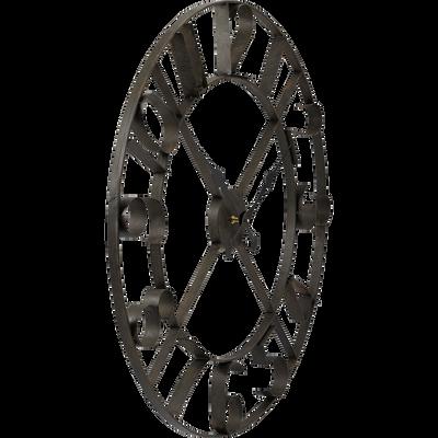 Horloge murale en métal (D76cm)-IRON
