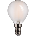 Ampoule LED verre dépoli D4,5cm culot E27-SPHERE