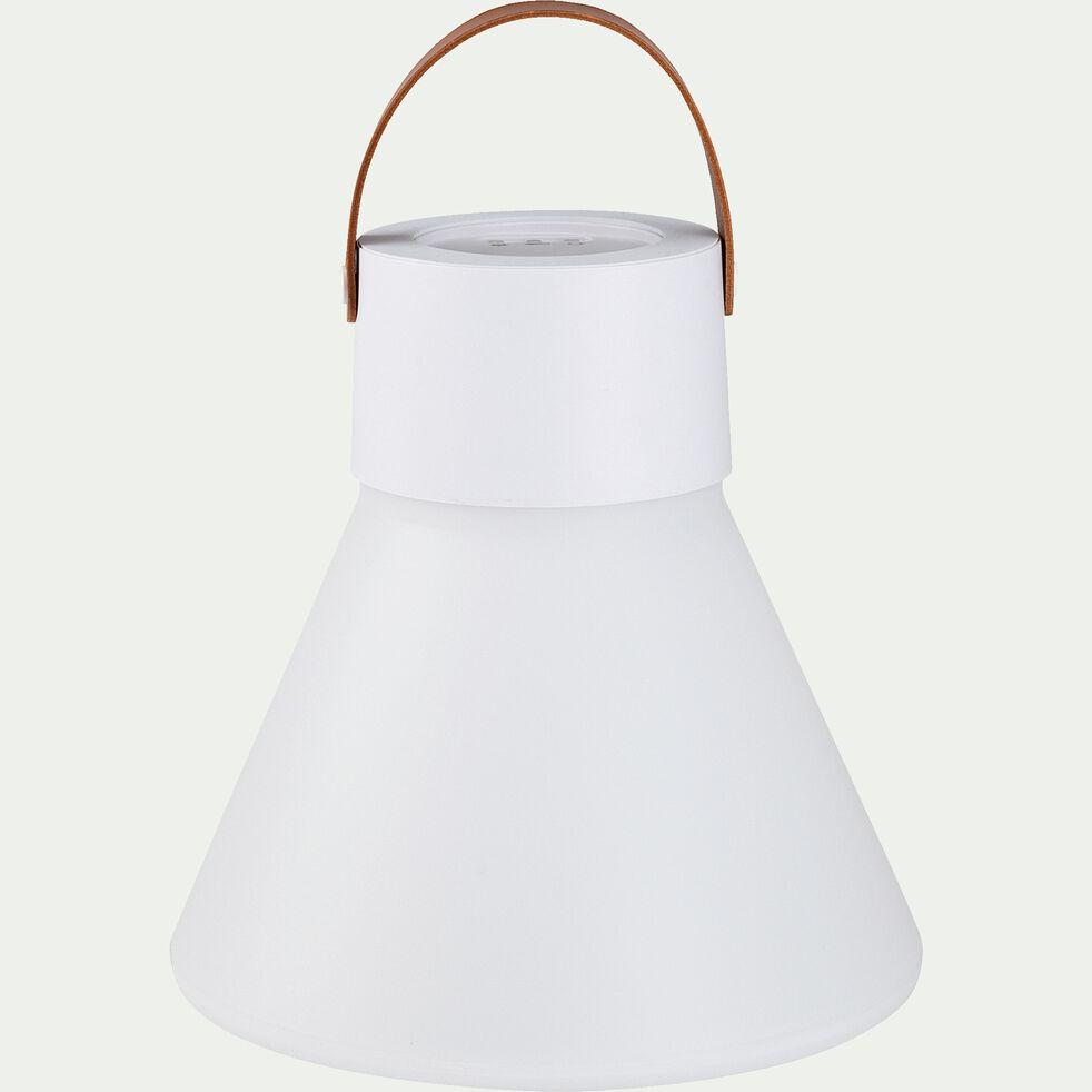 Lampe à poser d'extérieur - blanc H25cm-JOU