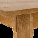 Meuble sous vasque en chêne 86 cm-EOLE