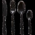 Ménagère 16 pièces noire-Delta black